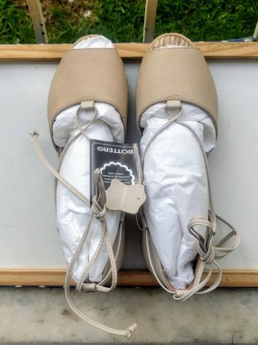 sandália rasteira avarca bottero espadrille tam 36 com tag