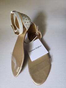 68c7b8a5b Sandalia Rasteira Carmen Steffens Feminino - Sapatos no Mercado Livre Brasil