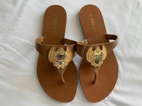 71c4336c2 Sandalia Rasteira Colcci - Sapatos no Mercado Livre Brasil