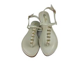 b9a6c784d Sandalias Fechada Feminina Delicada Vermelha Ou Branca - Sapatos no ...