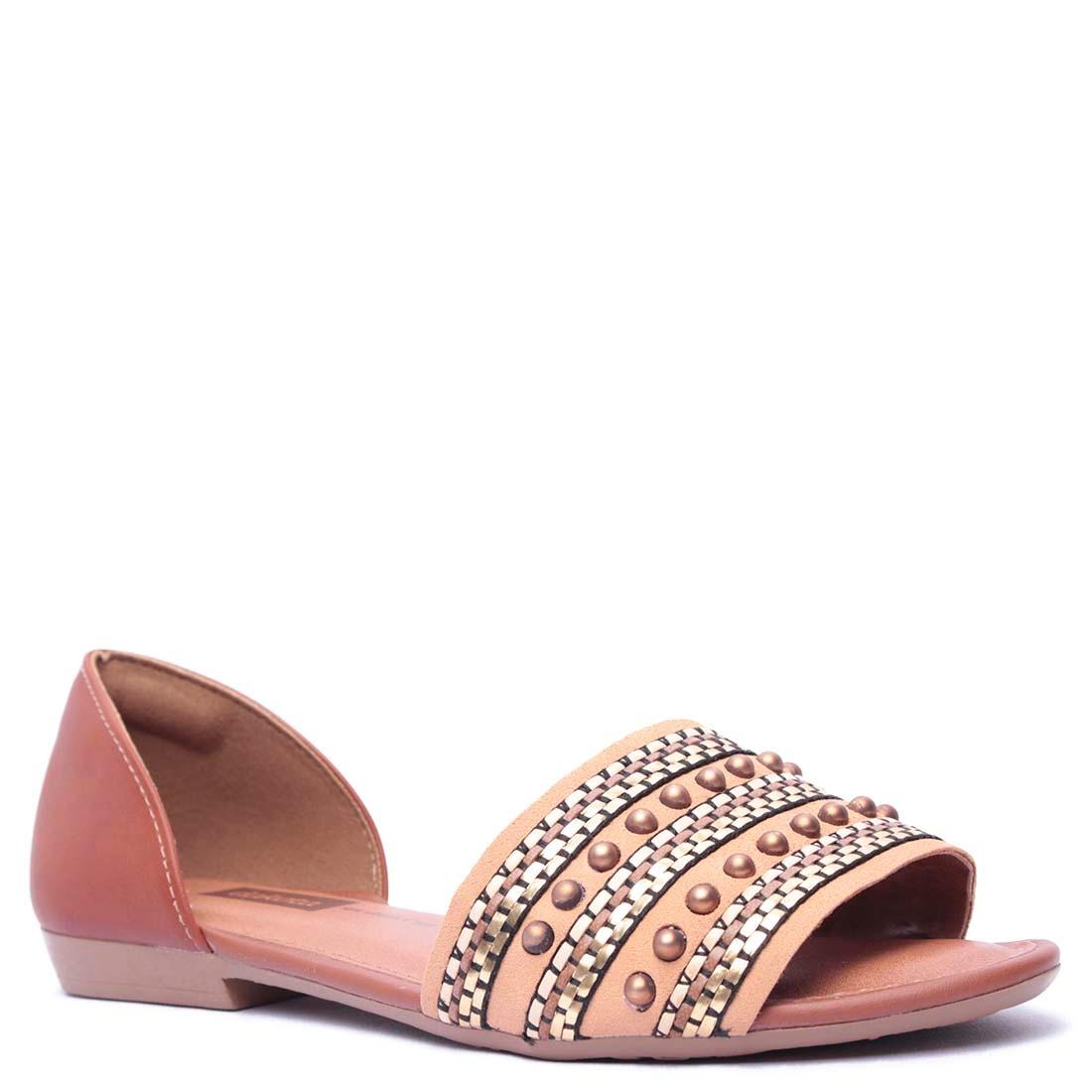 1b1bf1b815 sandália rasteira feminina dakota com tachas. Carregando zoom.