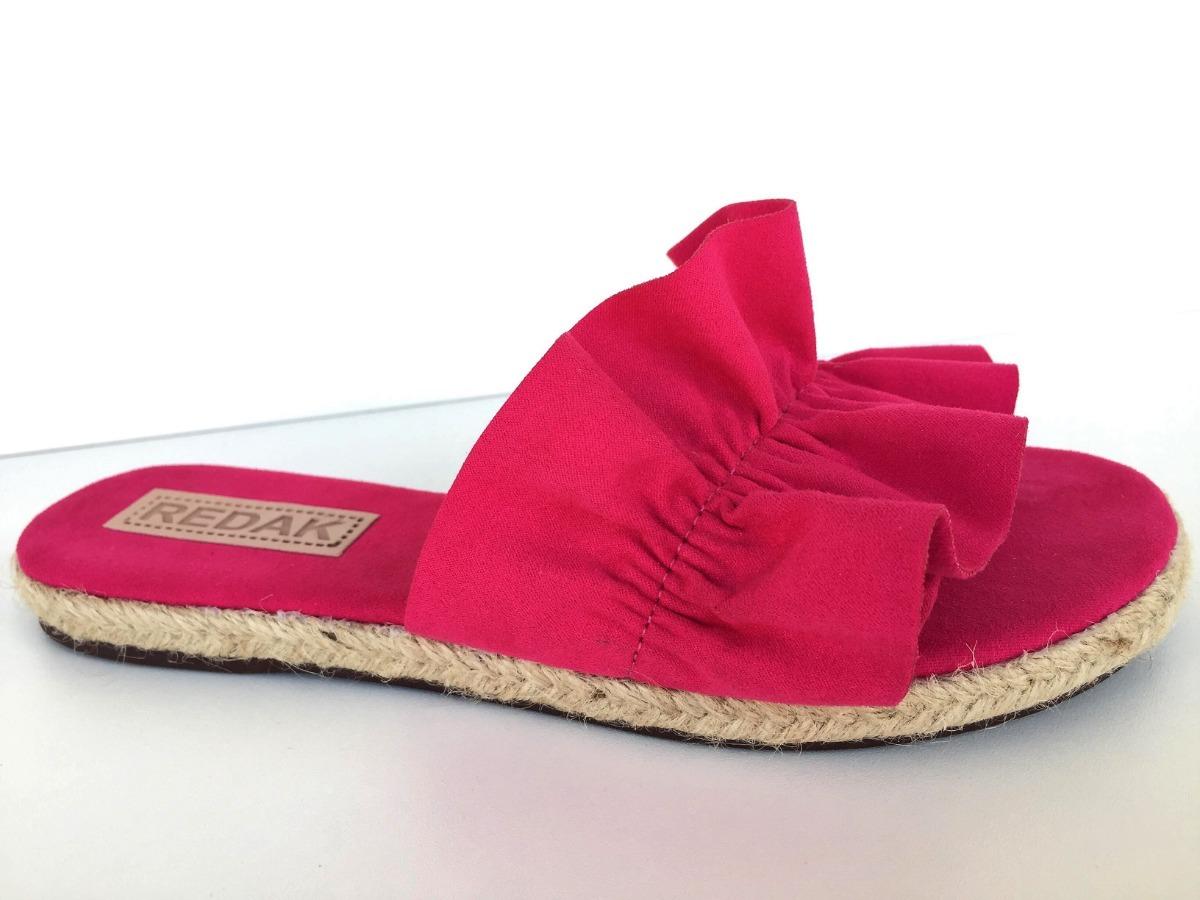 b86ca1295 sandália rasteira feminina pink babado lançamento 983831. Carregando zoom.