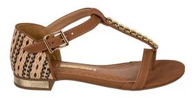 1f12885f4 Sandalia Rasteira Com Perolas Feminina Via Marte - Calçados, Roupas e  Bolsas com o Melhores Preços no Mercado Livre Brasil