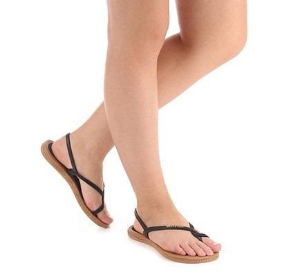 sandália rasteira feminino terra & água chinelo 100% vegano