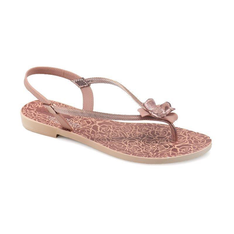 420796e25d sandália rasteira grendha mais rosa rose - 17772. Carregando zoom.