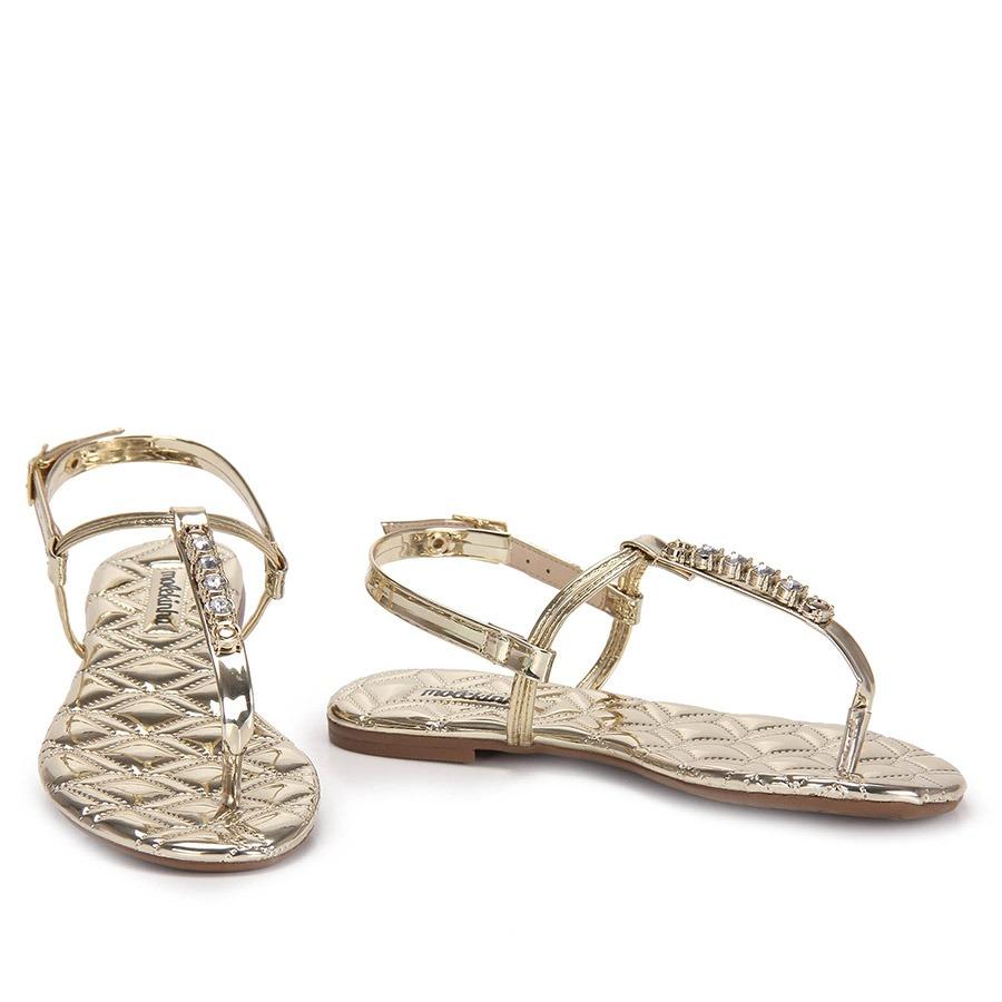 7378f694d sandália rasteira infantil molekinha - 25 ao 34 - dourado. Carregando zoom.