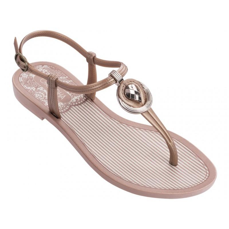 f79d93ee38 sandália rasteira macia feminina grendha. Carregando zoom.