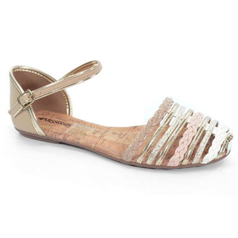 1d19f1774 sandália rasteira mississipi off white nude - x5671. Carregando zoom.
