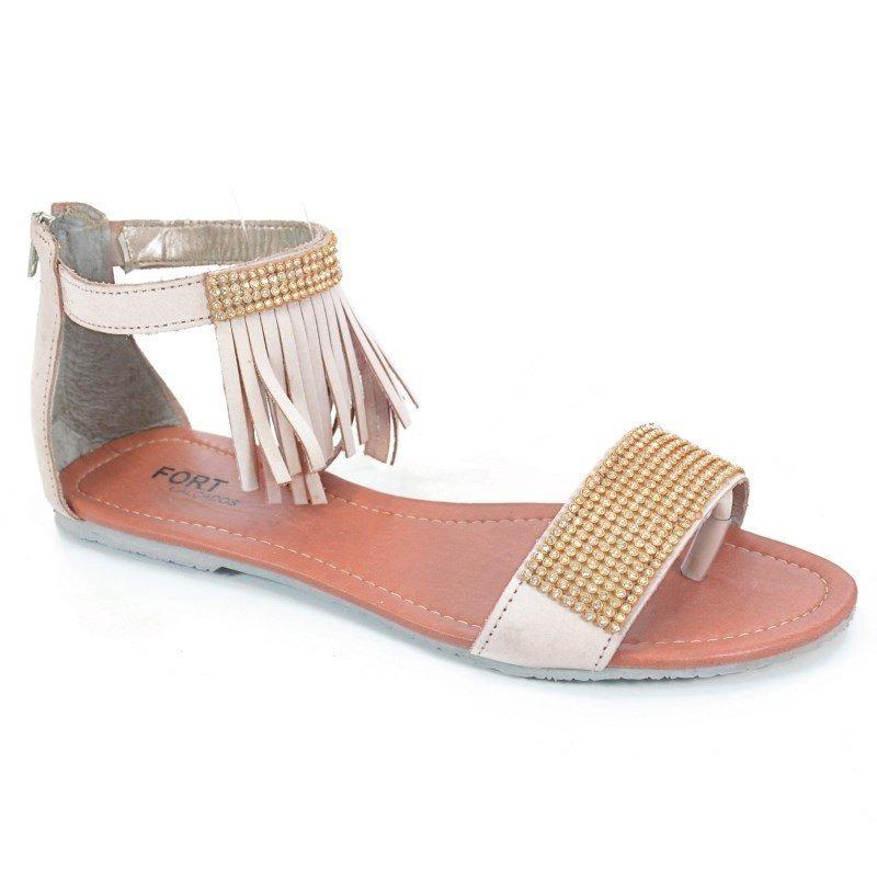 3092fd536c sandália rasteira numeração especial mariana marfim - 118. Carregando zoom.