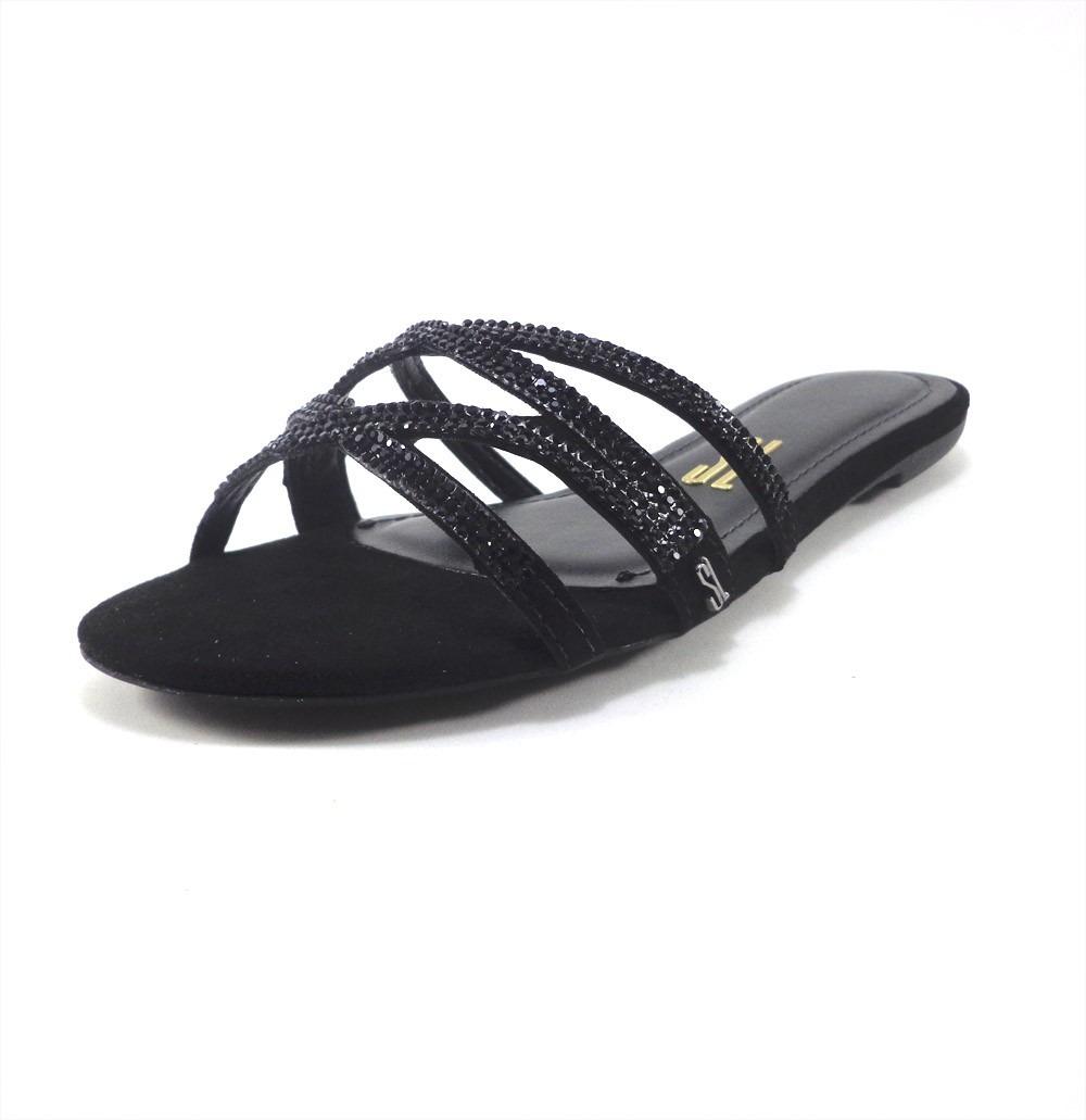 b6bd142509 sandália rasteira santa lolla preta promoção. Carregando zoom.