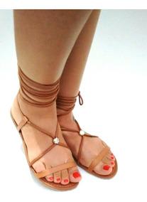5657a9c91 Sandalia Gladiadora Tanara Caramelo - Sapatos com o Melhores Preços ...