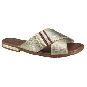 e88b66fcb4 Rasteira Prata Velha Feminino Usaflex - Sapatos no Mercado Livre Brasil
