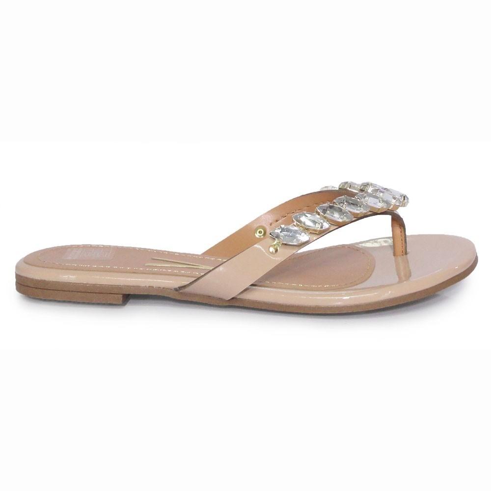 4b4d3776b0 sandália rasteirinha feminina vizzano 6365101 nude e dourada. Carregando  zoom.