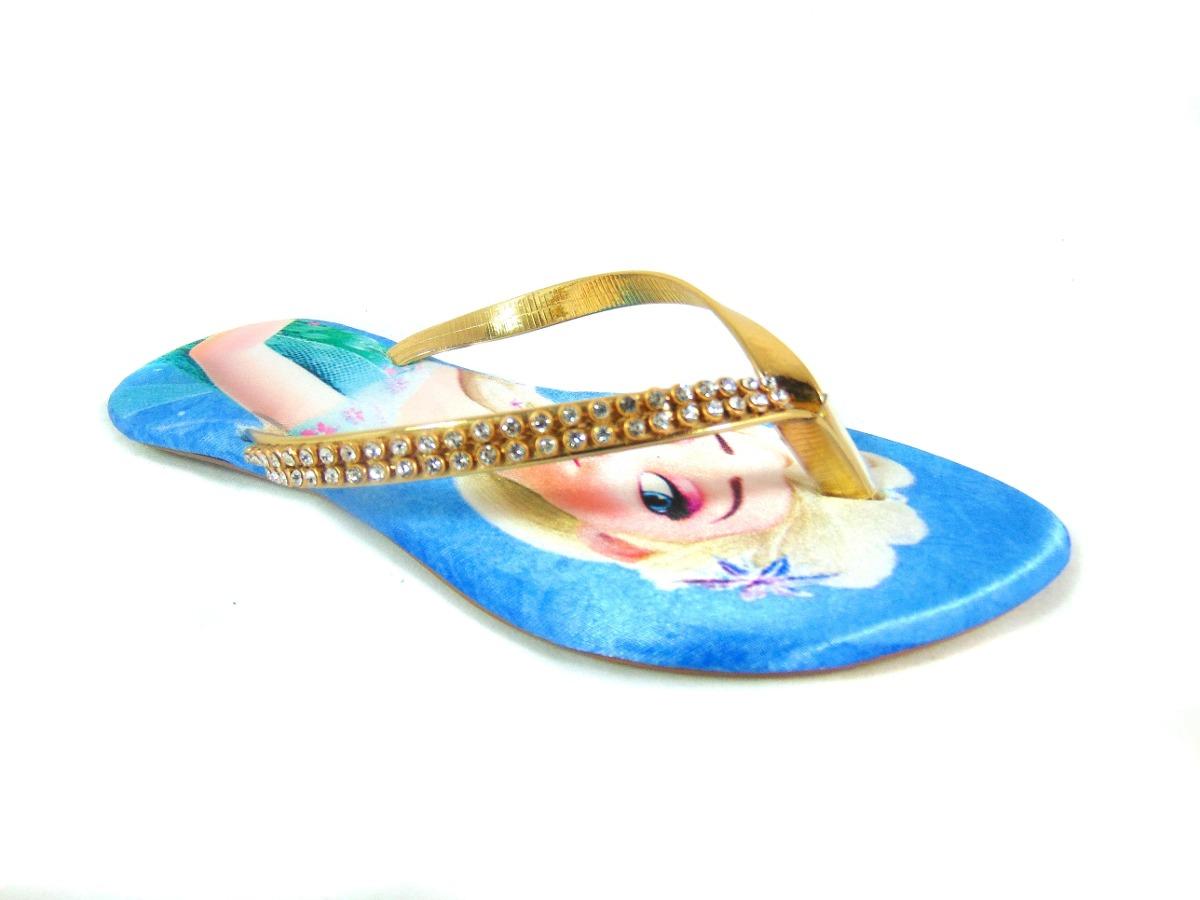 02f63769d1 sandália rasteirinha infantil feminina frozen elsa. Carregando zoom.