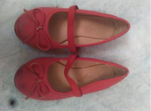 sandalia roja* niña* talla 26* marva kiuly