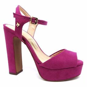 74e52f7d73 Sandalia Meia Pata Salto Alto Pink - Calçados