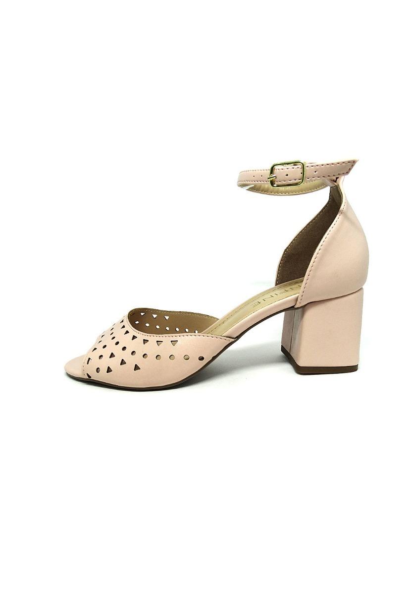 e5ea16b96c sandália rosa salto baixo confortável promoção. Carregando zoom.