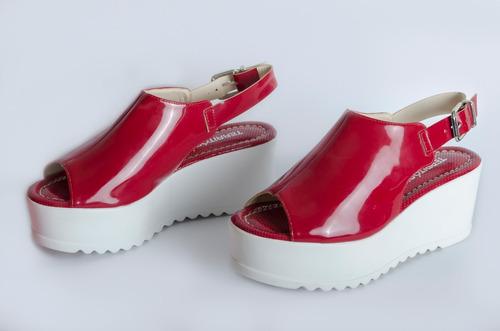 sandalia rosso  ref daya  442008