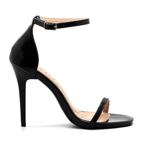 14c0e4639 Sapato Preto Verniz Penelope Salto Alto - Sapatos no Mercado Livre ...