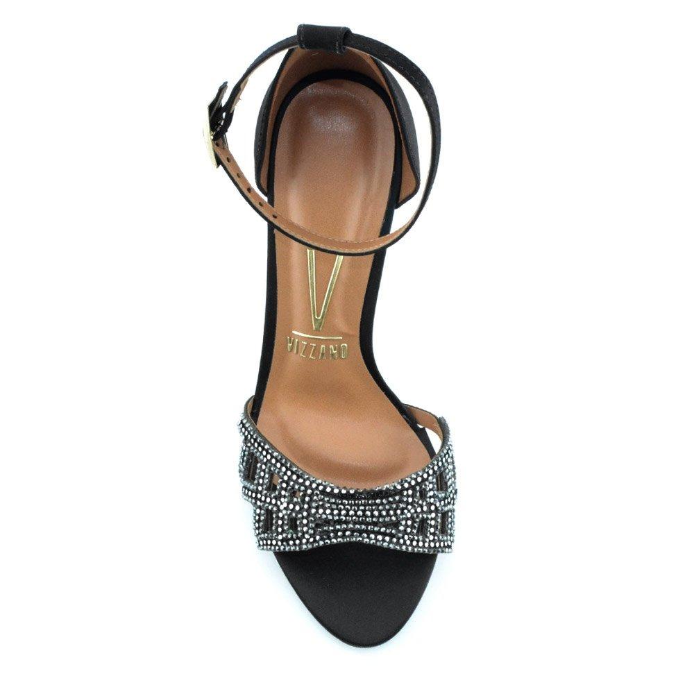 ea66dfb329 sandália salto alto com hot fix vizzano 6306112 cirandinha. Carregando zoom.