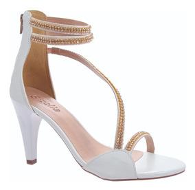 551f37059 Sapatos Femininos Salto Alto - Sandálias e Chinelos Dourado-escuro com o  Melhores Preços no Mercado Livre Brasil