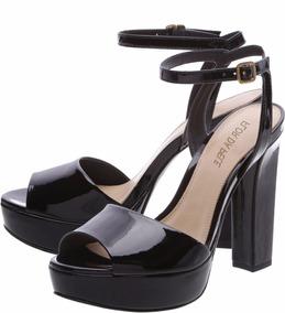 e2de2be2d Sandália Arezzo Salto Alto Tam 36 Muito Confortável - Sapatos com o ...