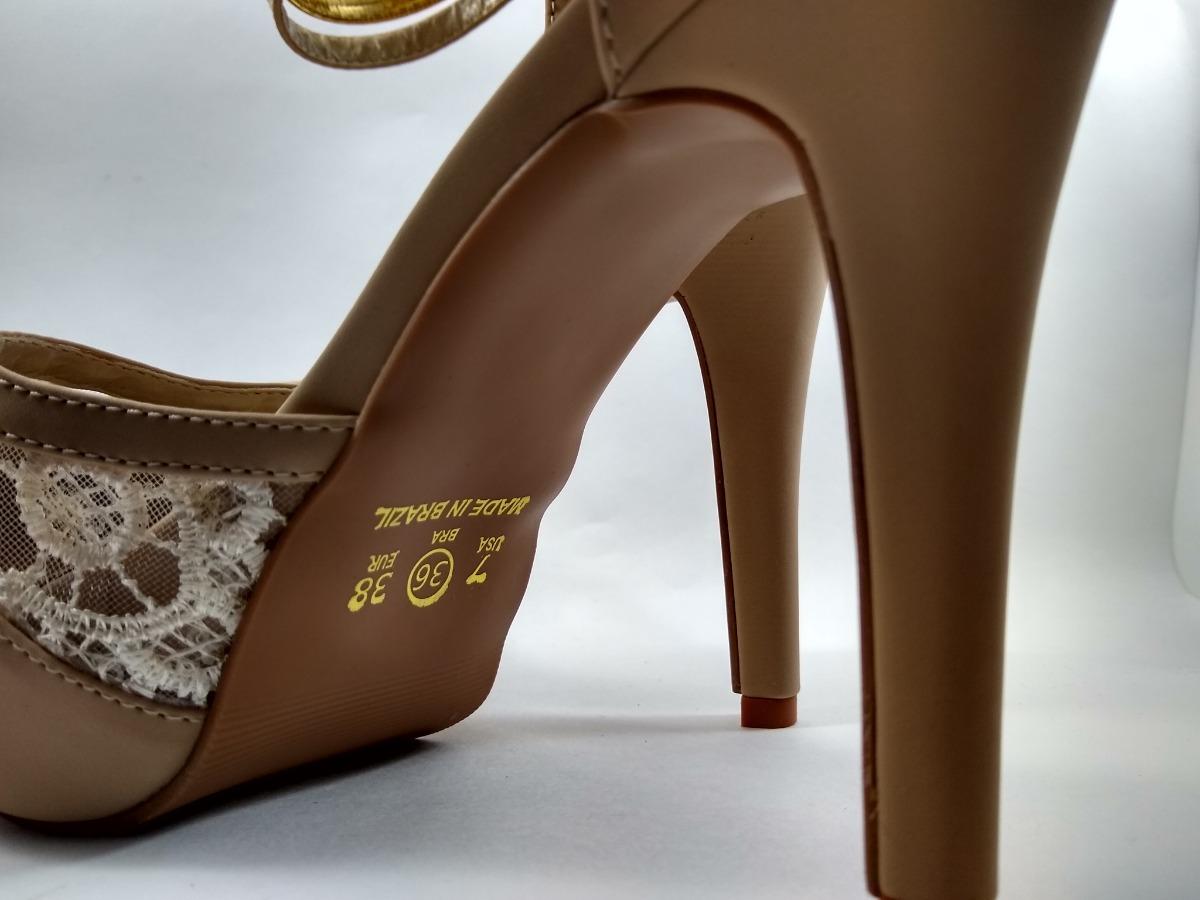 e1c87cab5 Sandalia Salto Alto Scarpin Bellatotti - R$ 149,90 em Mercado Livre