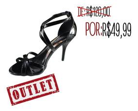2d5439915 Sapato Feminino Salto Alto Beira Rio Conforto Clovis Calçado - Sapatos com  o Melhores Preços no Mercado Livre Brasil