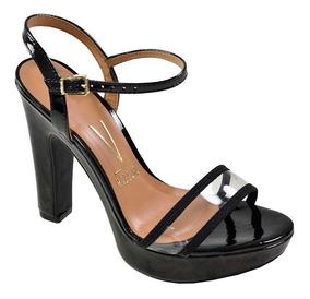 252aeeeb2 Sandalias Salto Grosso Baratas - Sandálias e Chinelos Femininas Sandálias  com o Melhores Preços no Mercado Livre Brasil