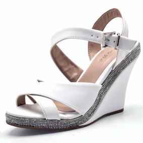 6fcffcbd5 Sandalia Branca Noiva Reveillon Debutante Schutz - Sapatos no ...