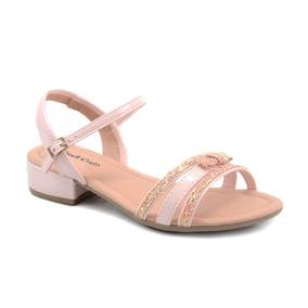 6c1105f4f2 Sapato Fechado Feminino Salto Baixo Rosa Pink - Calçados