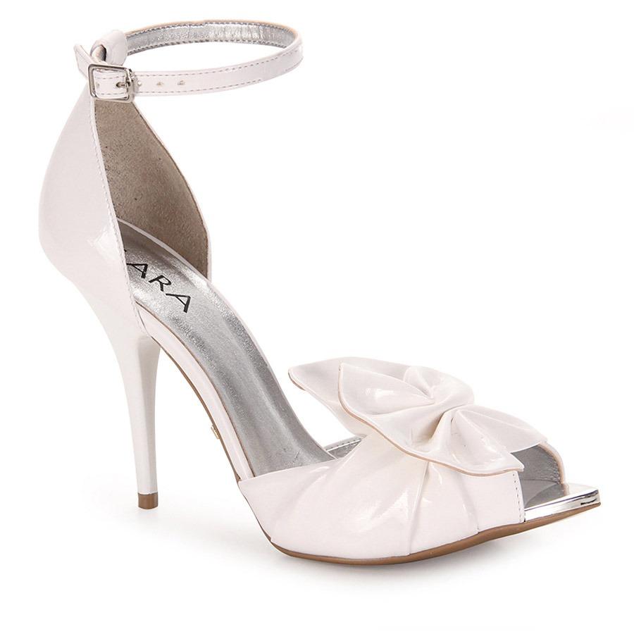 34325e56a sandália salto feminina lara - branco. Carregando zoom.