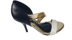 1fc7edbfd8 Scarpin Salto Baixo Dourado Beira Rio - Sapatos no Mercado Livre Brasil