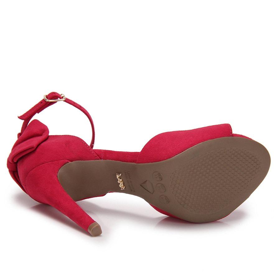 90bda9867a sandália salto fino lara laço - pink. Carregando zoom.