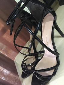 c0f5a940ea Sandalia Salto Prego 37 Sapatos - Sapatos no Mercado Livre Brasil