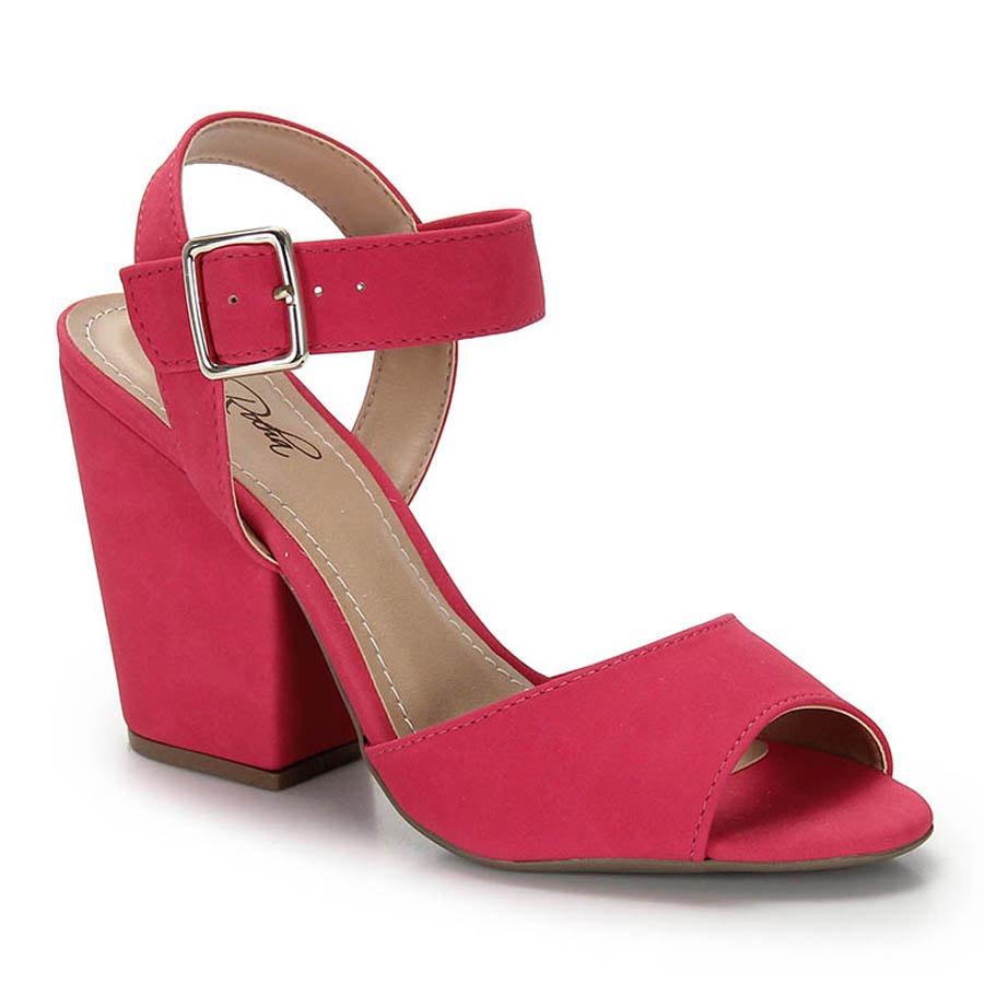 9bb3743fae sandália salto grosso bruna rocha - pink. Carregando zoom.