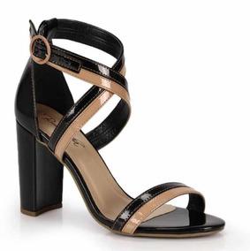0dbe4a8d43 Sandalia Com Elaste Bruna Marquezine Sandalias - Sapatos no Mercado ...