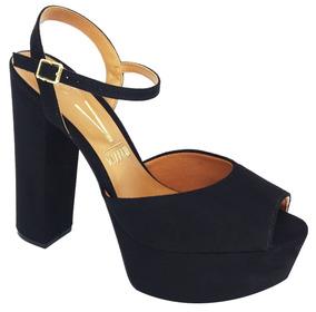 2a1c6aa732 Sapato Vizzano Salto Grosso Passarela - Sapatos no Mercado Livre Brasil