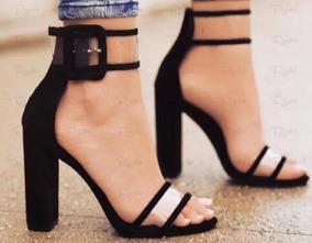 16bf3dc36 Passarela Calcados Sandalia Salto - Calçados, Roupas e Bolsas no Mercado  Livre Brasil