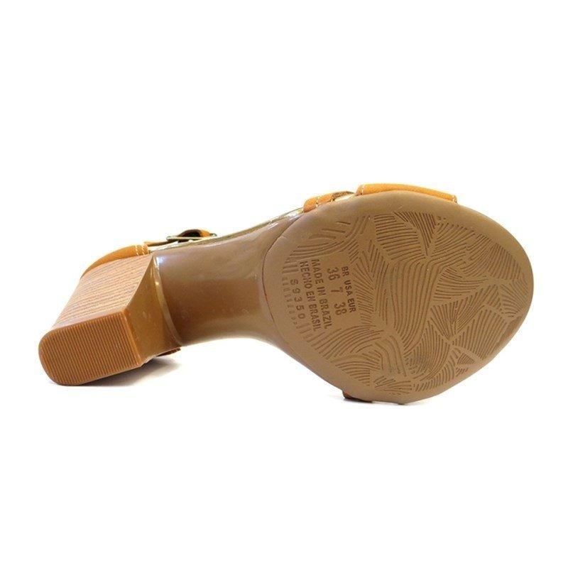 9a693462c Sandalia Salto Grosso Z2224 - Dakota (70) - Caramelo - R$ 130,96 em ...