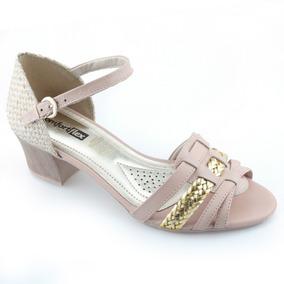 ccbb49a97 Sapato Di Santini, Com Salto Sandalias Comfortflex - Sapatos com o Melhores  Preços no Mercado Livre Brasil