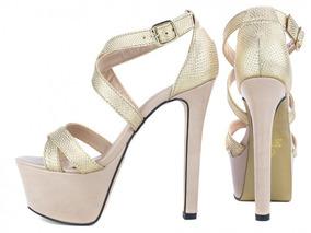 8bf8bc812 Salto Alto De Casamento - Sapatos para Feminino no Mercado Livre Brasil