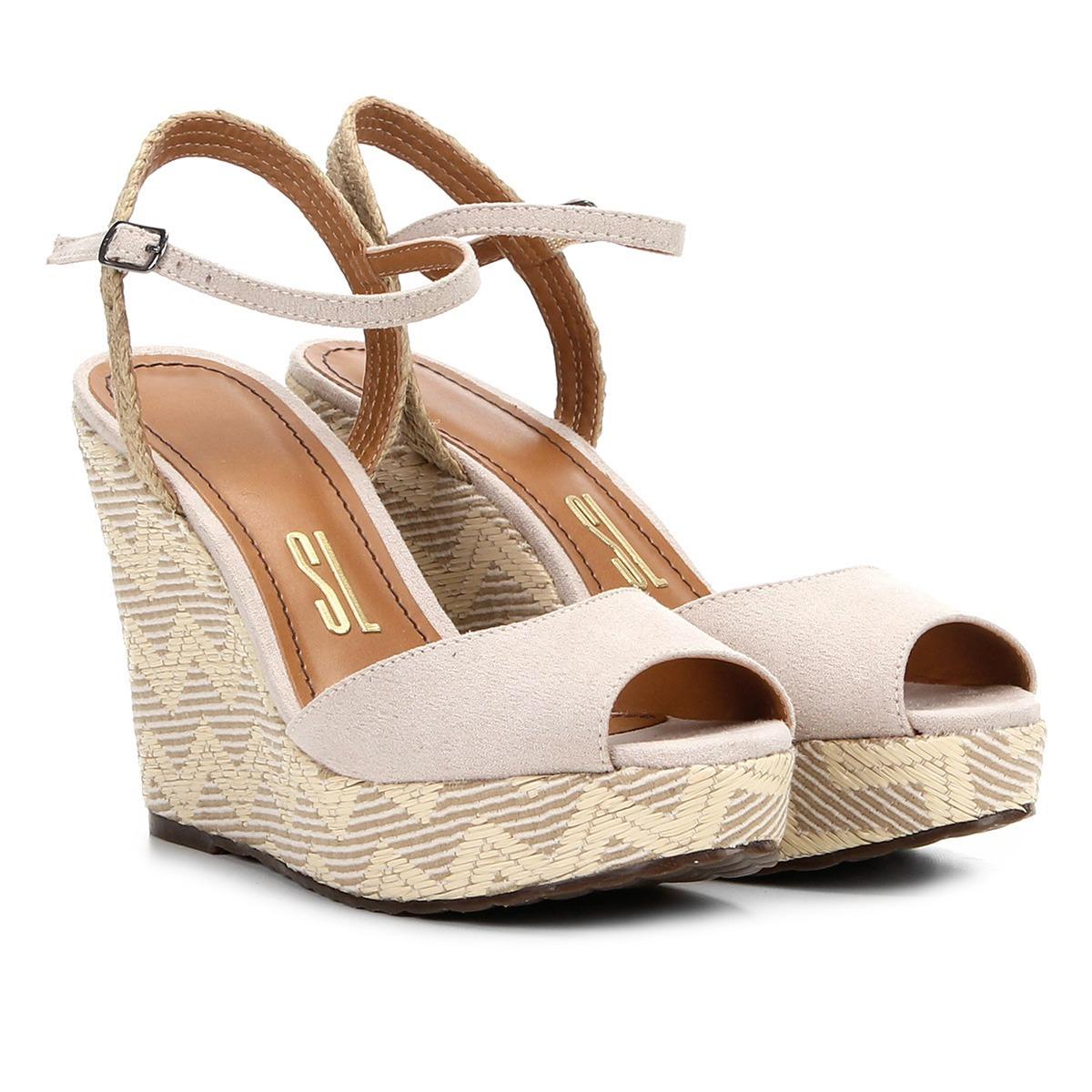 e800e14a07 sandália santa lolla anabela feminina tressê original. Carregando zoom.