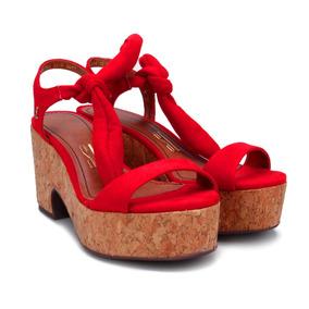 d6e3ebf256 Sandalia Plataforma Cortica - Sapatos no Mercado Livre Brasil