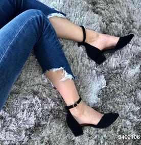 b87d77b5c Sandalia Salto 3 Cm Feminino Rasteiras - Sapatos com o Melhores ...