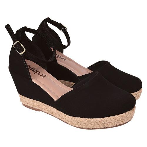 sandalia sapato anabela