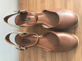 4714a4bfe Leader Calcado Mulher Sapato Feminino Anabela - Sapatos, Usado no Mercado  Livre Brasil