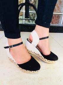 b1c49ec30d Sapato Boneca Salto Anabela - Sapatos para Feminino no Mercado Livre ...