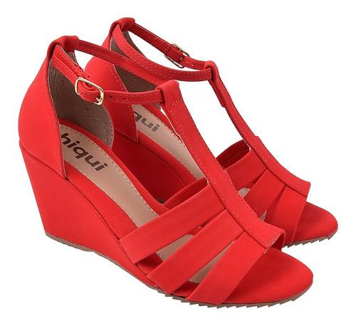 sandália sapato feminina chiquiteira chiqui/53188
