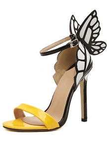 93302326a Sexy Sandalia Salto Alto Grife Feminino - Sapatos no Mercado Livre Brasil
